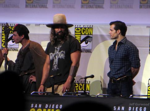 Justice League Comiccon 2016