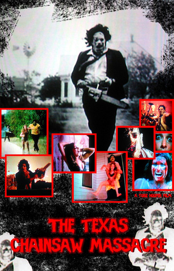 Texas Chainsaw Massacre fan poster 2