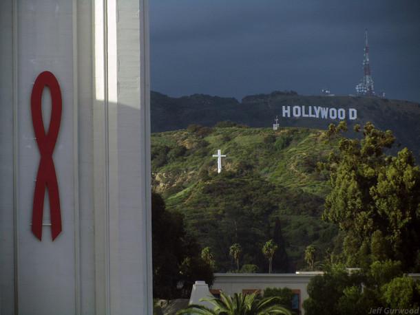Ribbon Above Hollywood 2011