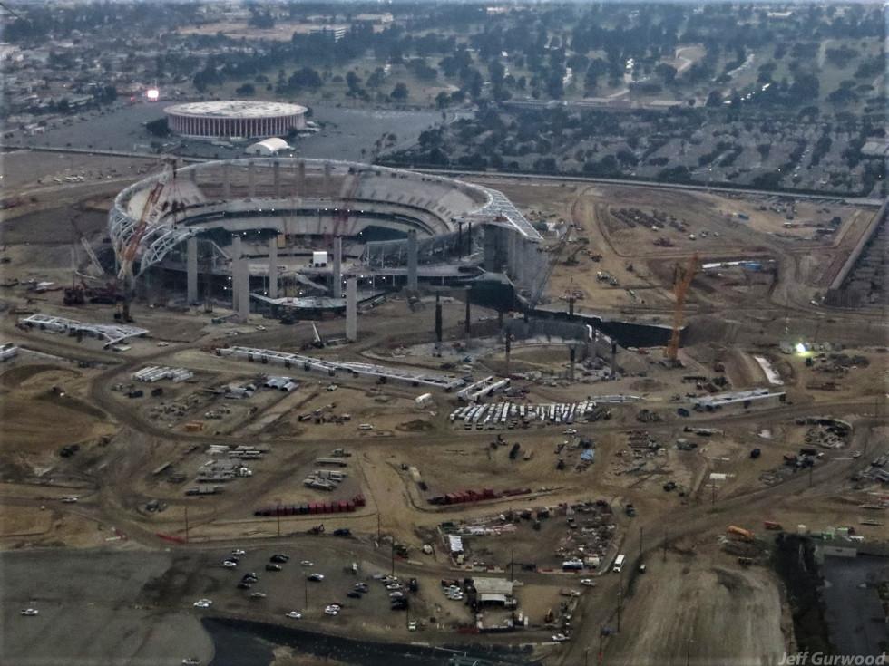 Aerial Photography (62) SoFi Stadium LA 2019