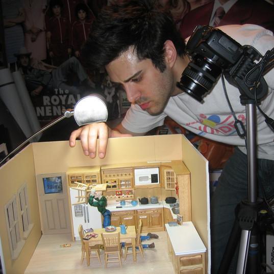 Last Randy Standing animation shoot 2008 5