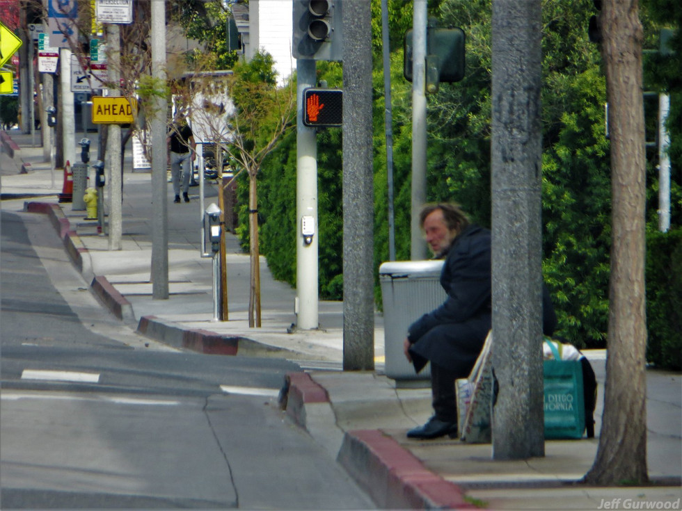 Hollywood Quarantine 3-31-20 Lonely Sunset Strip
