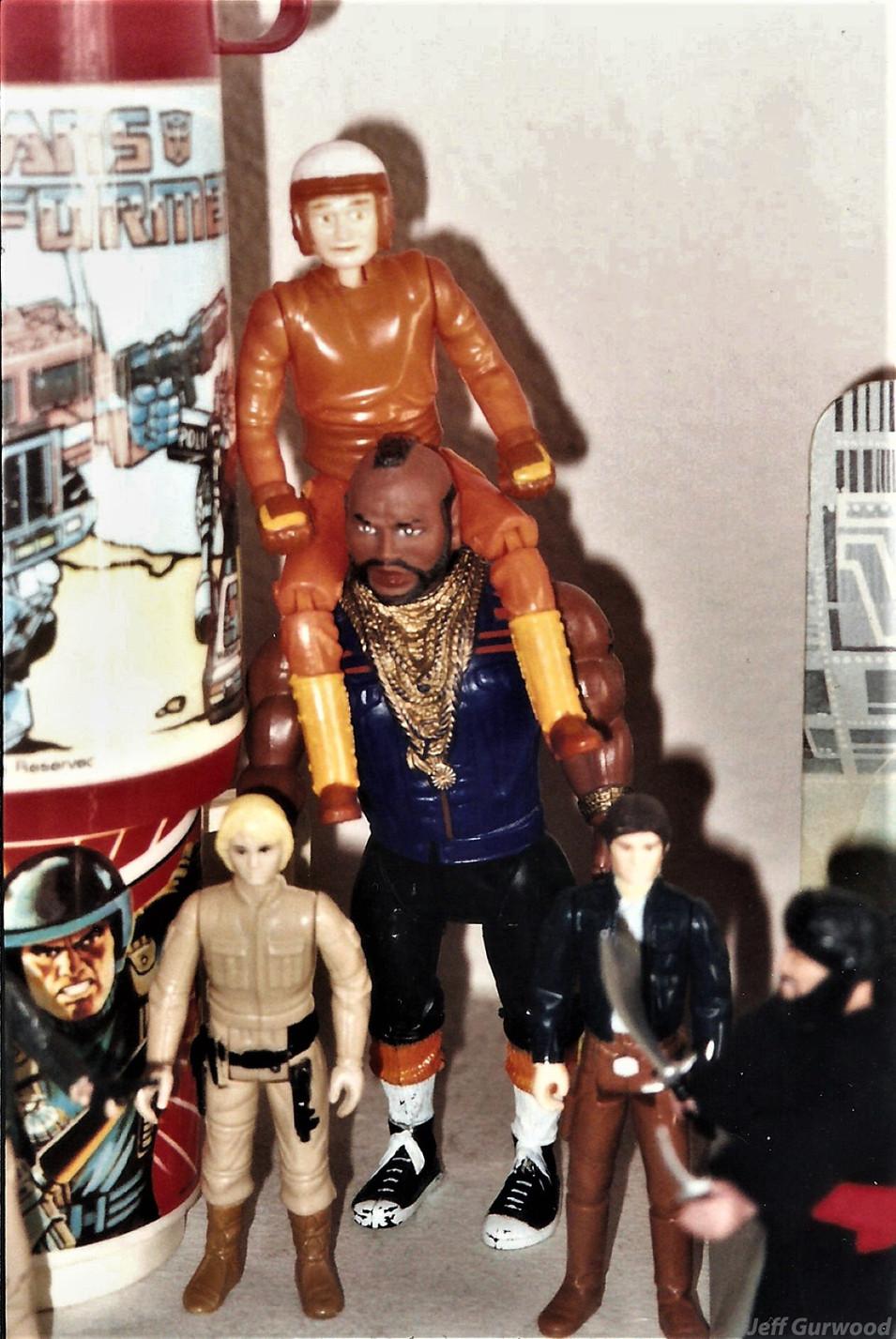 Mr T, Conan, Luke and Han 2001