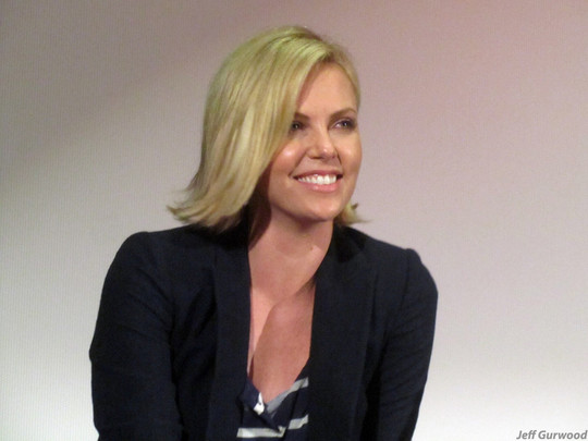 Charlize Theron Young Adult screening 11-1-11 New Beverly