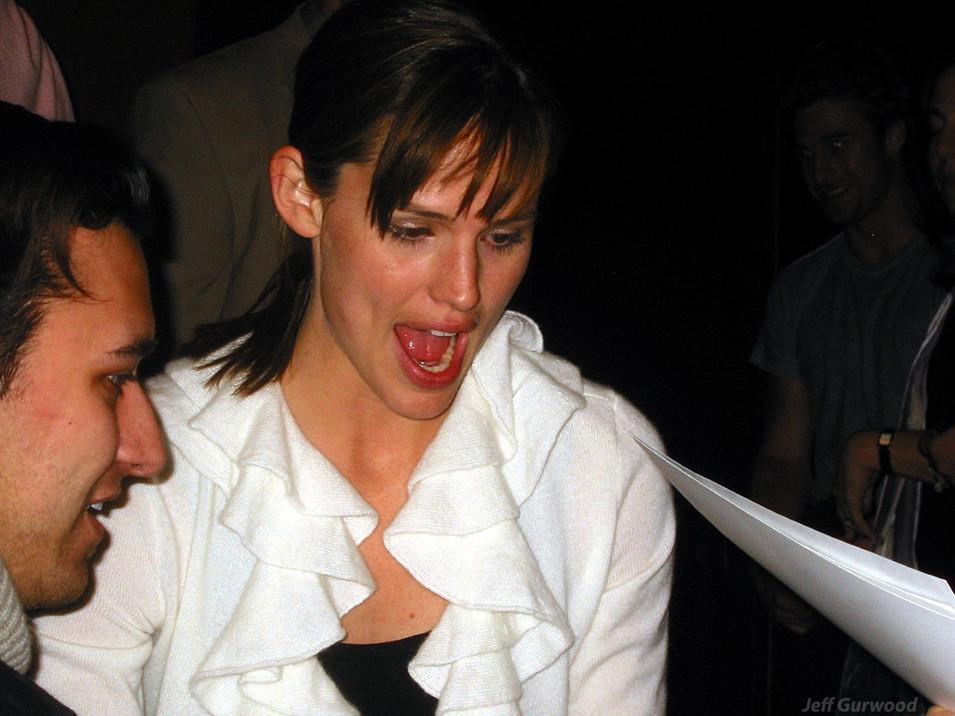 Jennifer Garner Paley Center 3-3-04