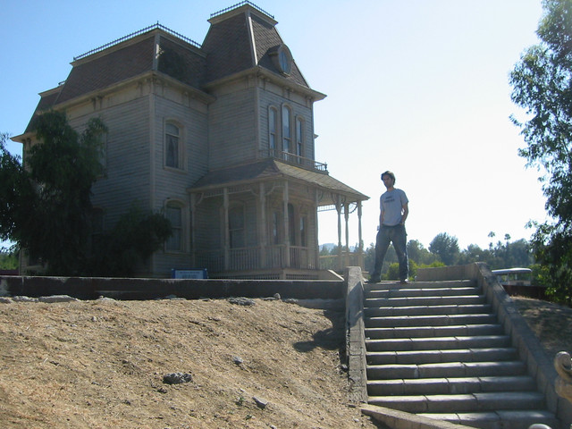 Psycho House Universal back lot 2002