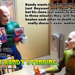 Last Randy Standing animation shoot 2008