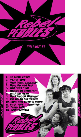 Rebel Pebbles band CD art