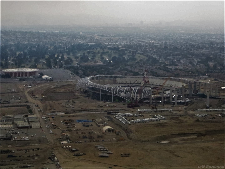 Aerial Photography (64) SoFi Stadium LA 2019