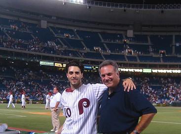 Phillies game Veterans Stadium 2003