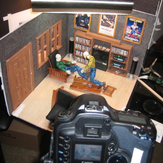 Last Randy Standing animation shoot 2008 14