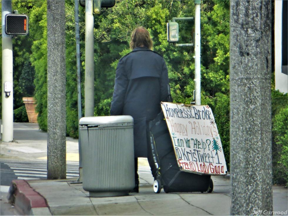 Hollywood Quarantine 3-31-20 Homeless on Sunset