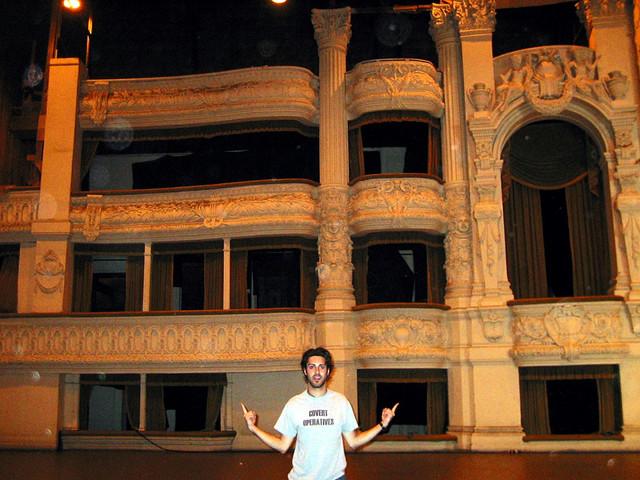 Phantom of the Opera set Universal back lot 2002