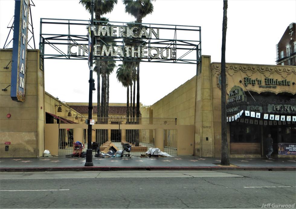 Hollywood Quarantine 3-31-20 Egyptian Theater