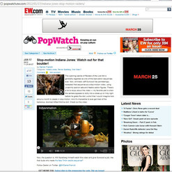 Indyanimation on Entertainment Weekly