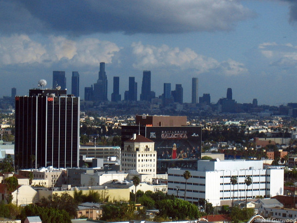 Hollywood and Downtown 2008