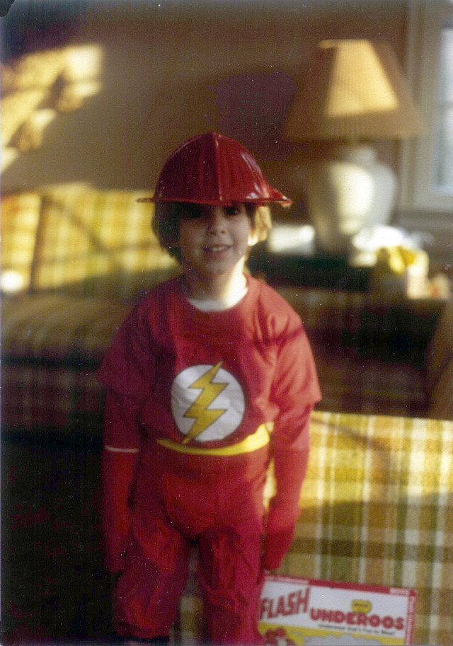 Costumes Fire Hat Flash