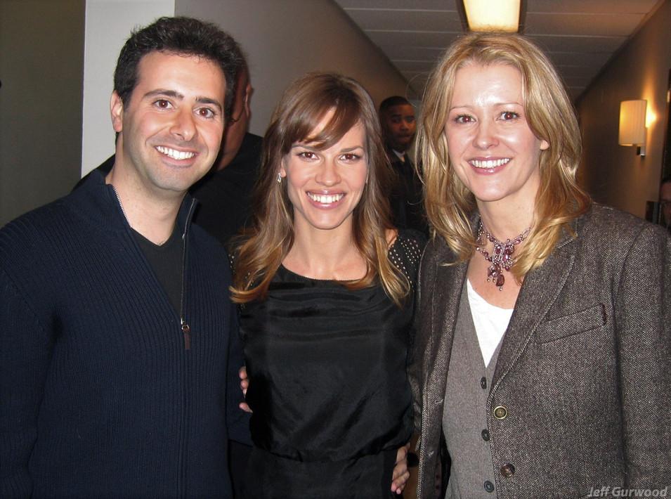 Hillary Swank Tonight Show 2007