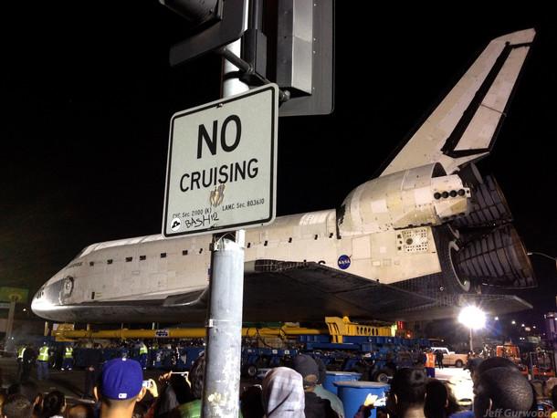 No Cruising Endeavour 2012