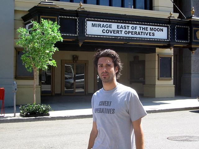 My marquee NYC street Universal Studios 2002