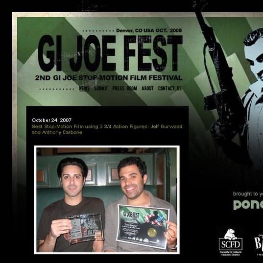 GI Joe fest page