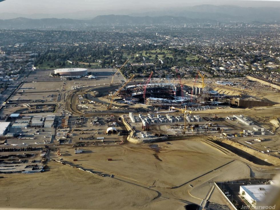 Aerial Photography (58) SoFi Stadium LA 2018
