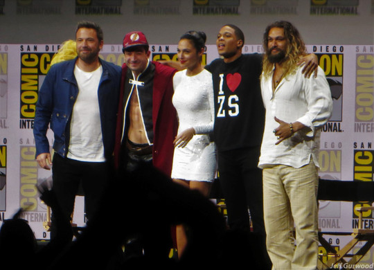 Justice League Comiccon 2017