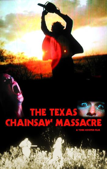 Texas Chainsaw Massacre fan poster