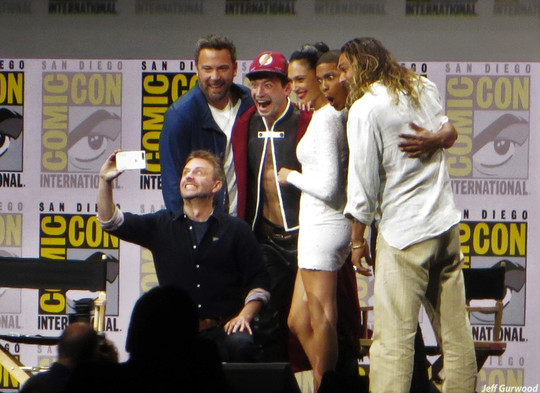 Justice League with Chris Hardwick 2017