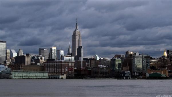 New York skyline 2011