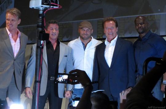 Expendables panel Comiccon 2012