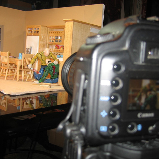 Last Randy Standing animation shoot 2008 9
