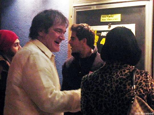 Quentin Tarantino, Eli Roth & Diablo Cody at New Beverly 2008