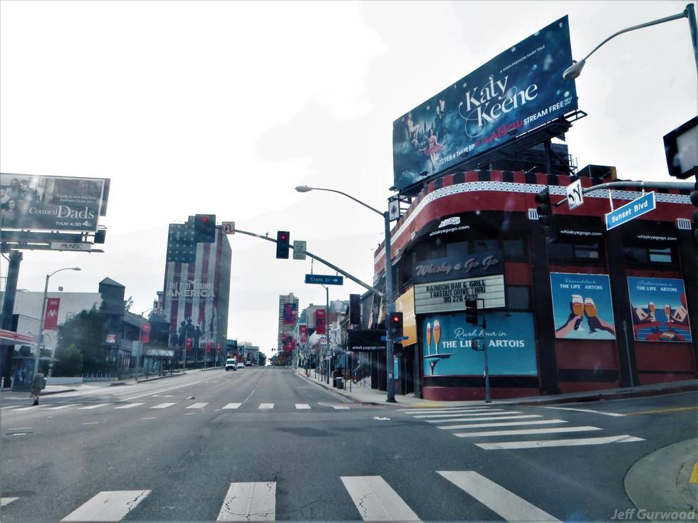 Hollywood Quarantine 3-31-20 Sunset and Clark