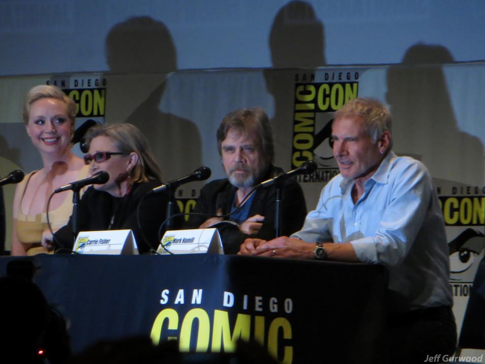 Star Wars Force Awakens panel Comiccon 2015