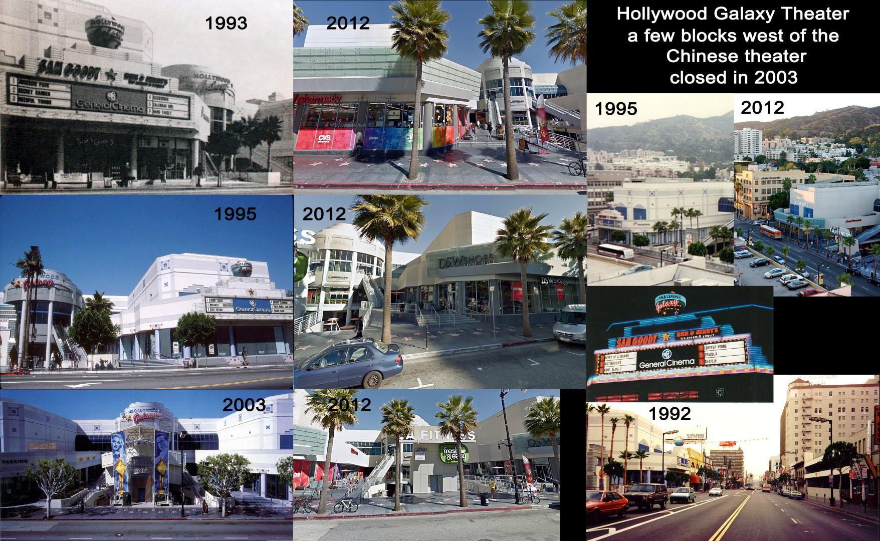 Hollywood galaxy Theater 1993 - 2012