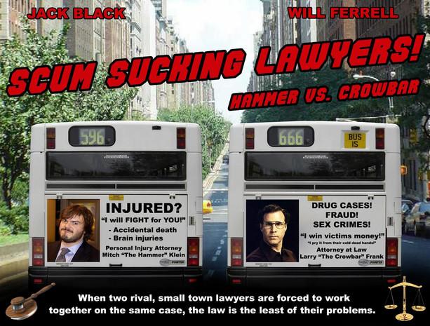 Scum Sucking Lawyers movie concept art