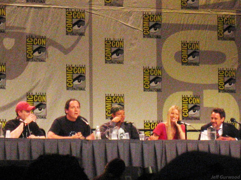 Iron Man very 1st Comiccon panel 2007