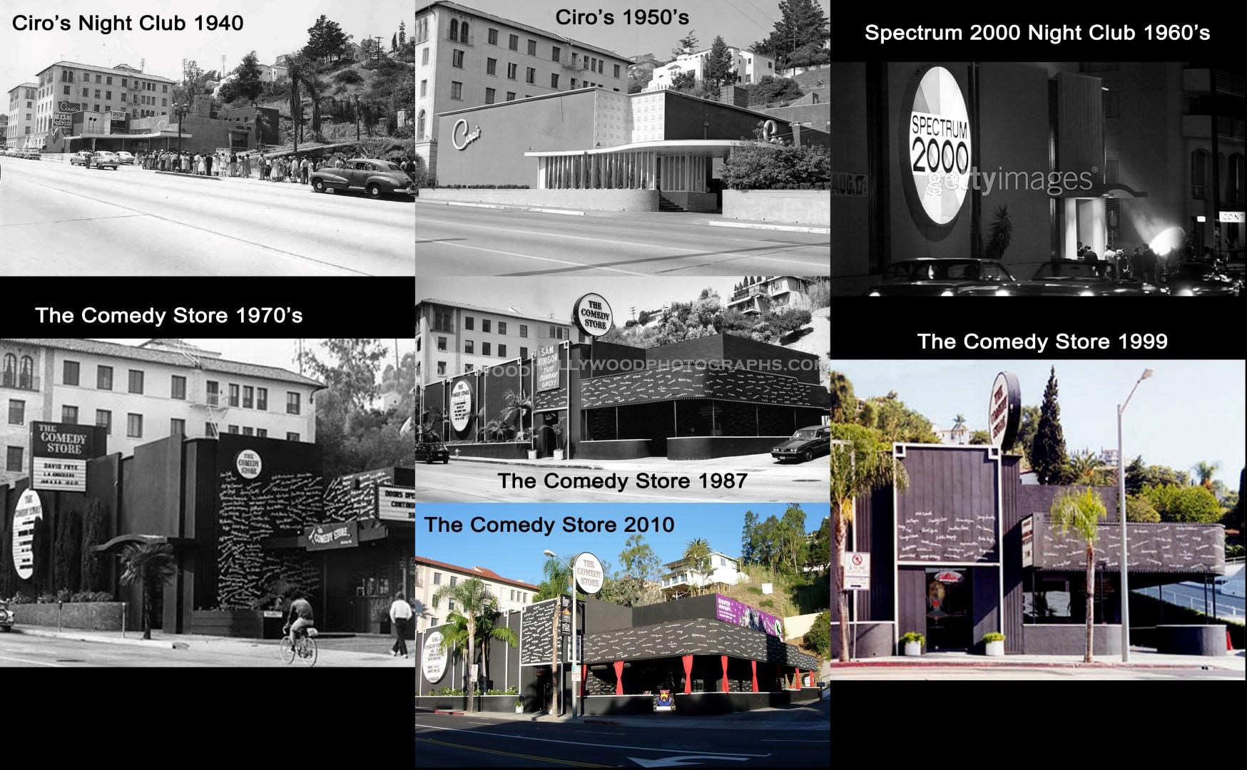 Comedy Store 1940 - 2010