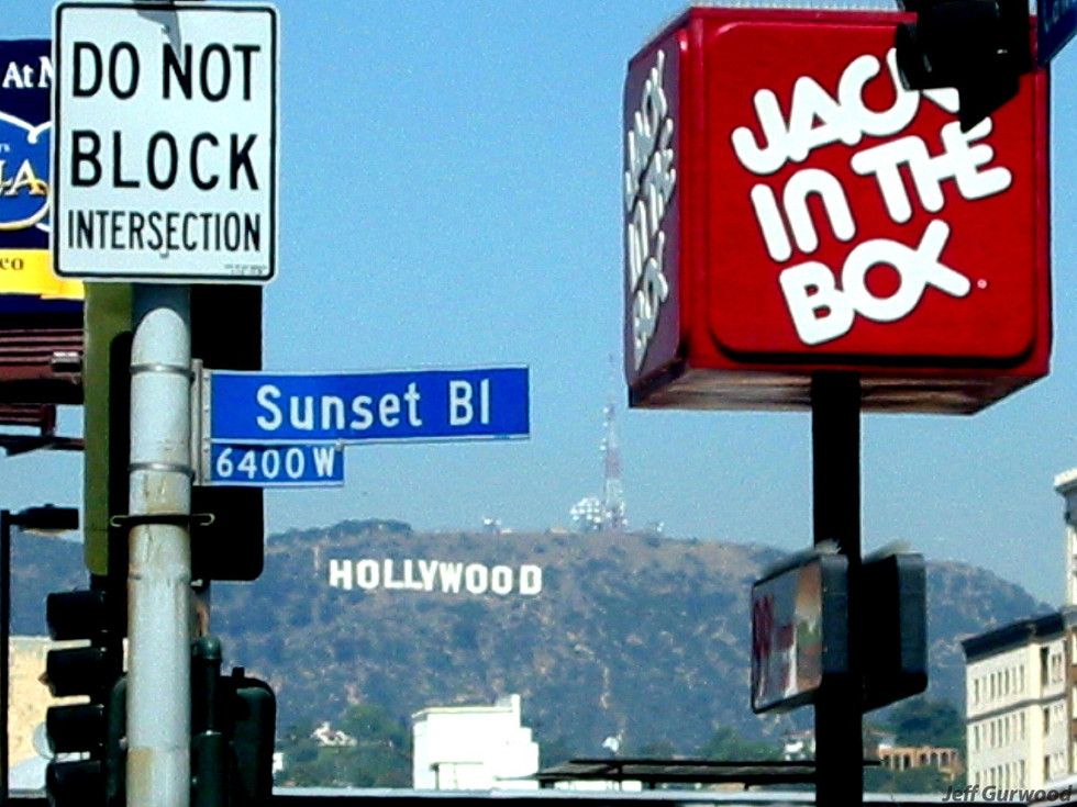 Sunset and Cahuenga 2002