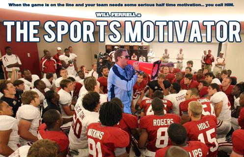 Sports Motivator movie concept art