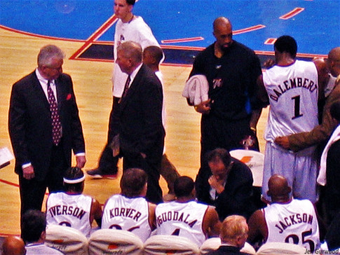 Philly Sports Sixers game 2004