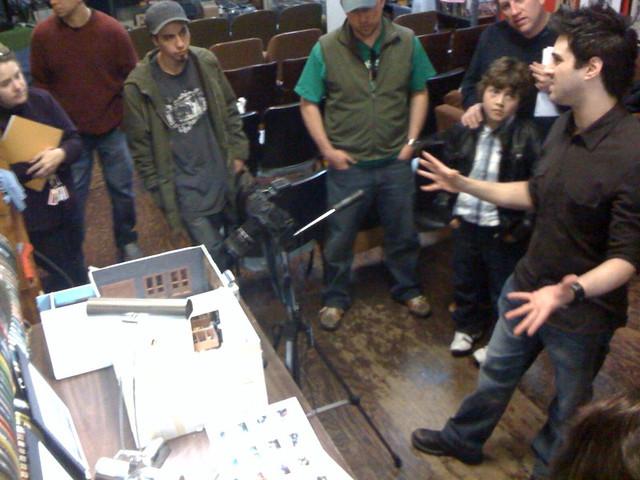 Teaching Stop Motion Workshop Echo Park Film Center 1