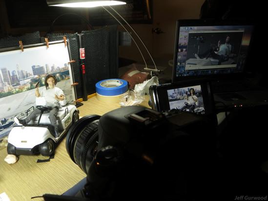 Henchmen short film Live and Animation shoot (3)