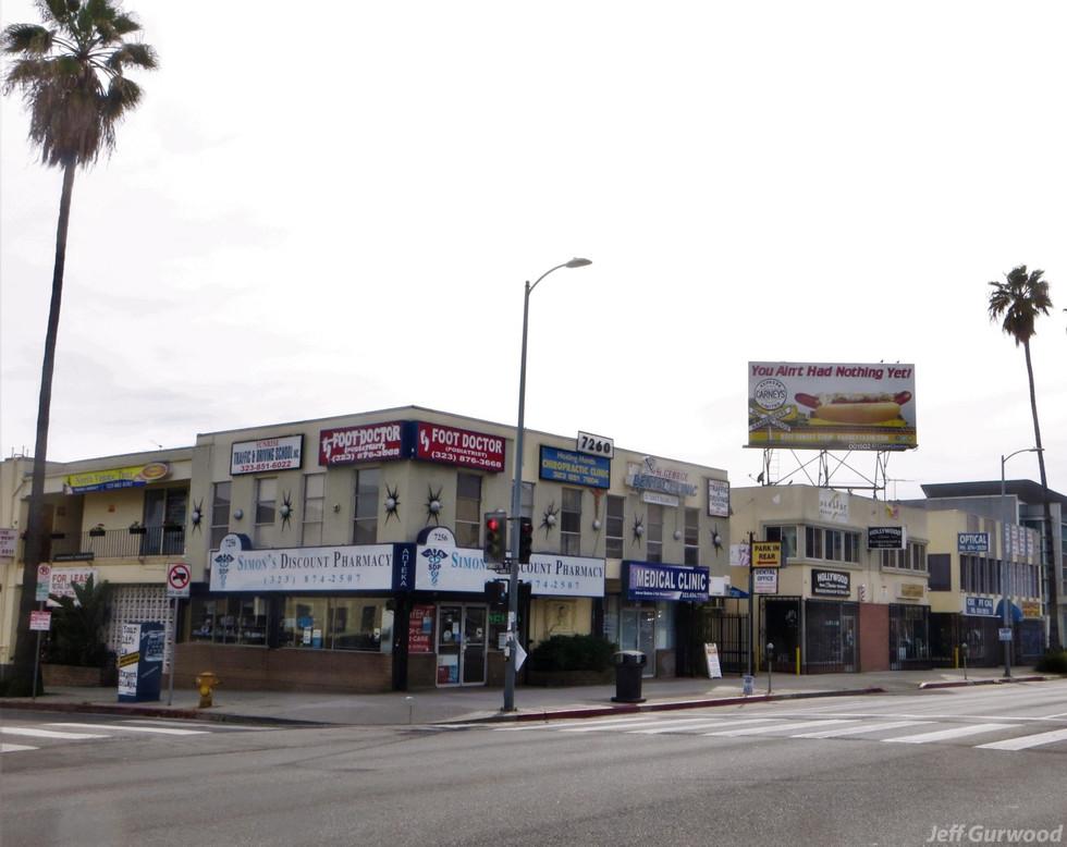 Hollywood Quarantine 3-31-20 7260 Sunset Blvd