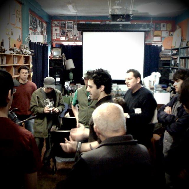 Teaching Stop Motion Workshop Echo Park Film Center 2