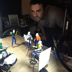 Henchmen sizzle Live and Animation shoot