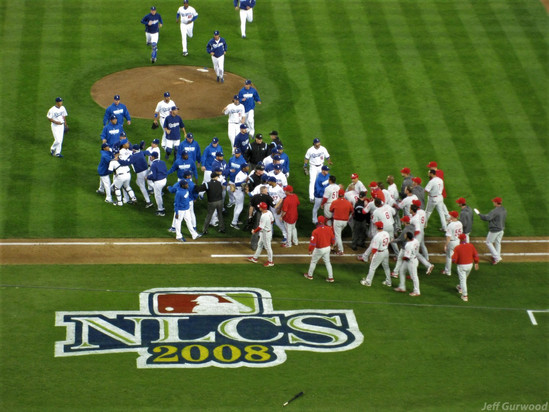 Philly Sports NLCS Fight (32) 2008
