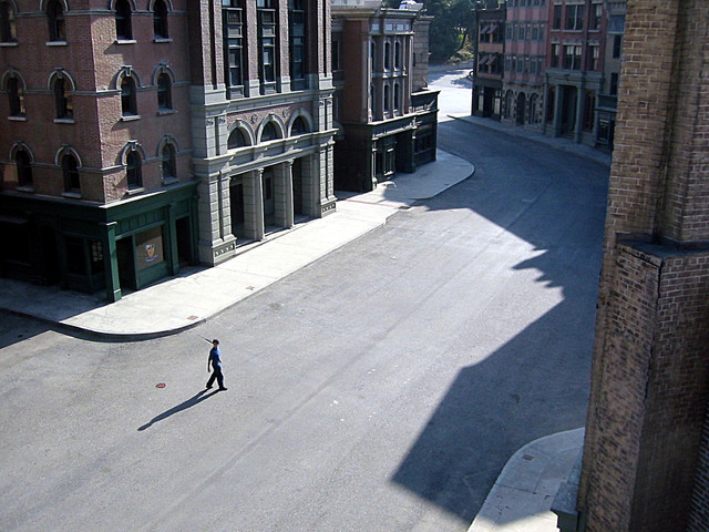 NYC street 2002 Hello Out There Universal Backlot
