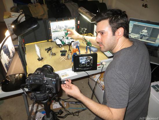 Henchmen short film Live and Animation shoot (6)